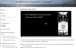 Kabbalah Society Videos